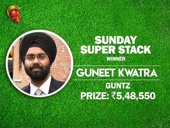 Guneet Singh Kwatra wins Sunday SuperStack at Spartan