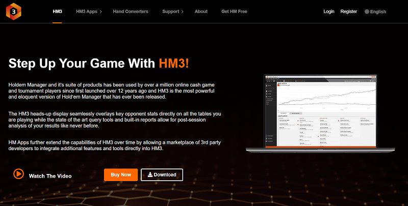 Holdem Manager 3 - top poker tools and software