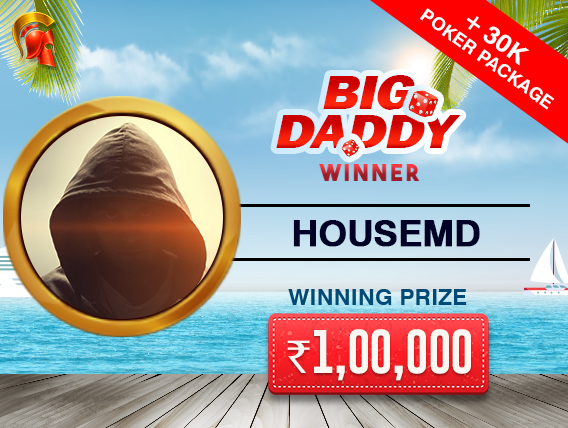 'HouseMD' wins Big Daddy and trip to Goa from Spartan