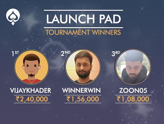 Huge prizes awarded at UmaPoker's LaunchPad Tournament