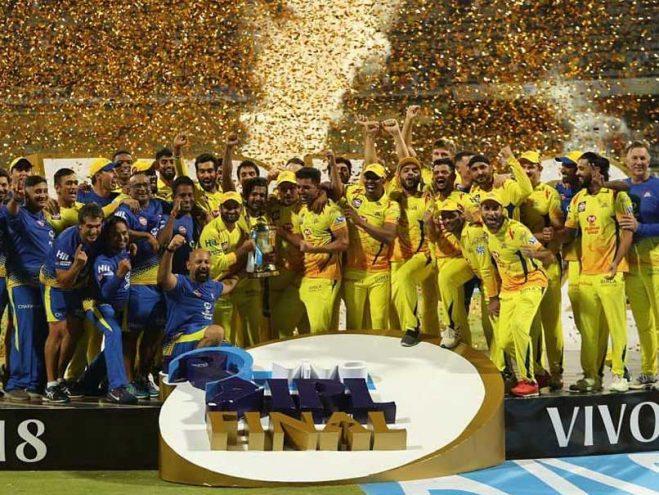 IPL 2018 CSK Win