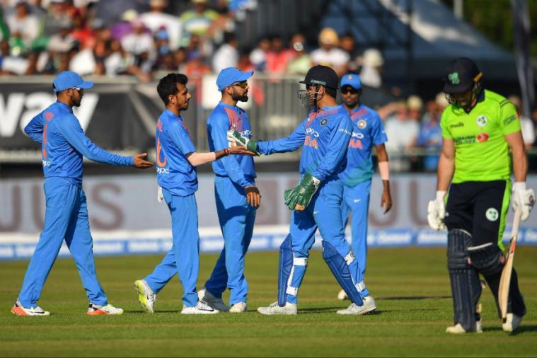 India thrash Ireland in 1st T20I