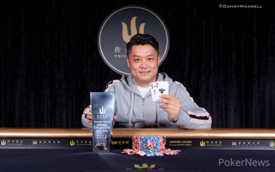 Ivan Leow wins Triton SHR 500k Short Deck Event