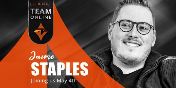 Jaime Staples to join partypoker Team Online on 4th May