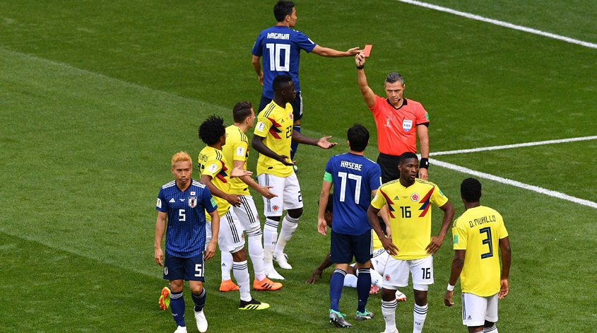 Japan stun Colombia in 2018 FIFA World Cup