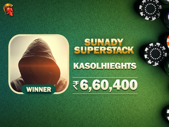 'KasolHieghts' takes down Sunday SuperStack on Spartan