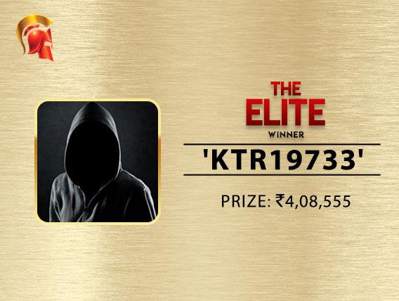 'Ktr19733', Arjanveer Chadha chop Spartan Elite