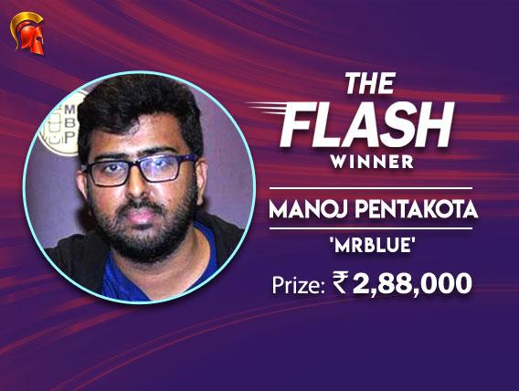 Manoj Pentakota takes down The Flash on Spartan