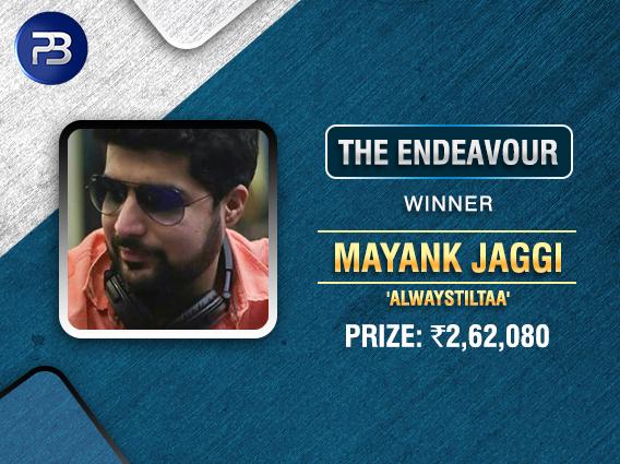 Mayank Jaggi takes down Endeavour on PokerBaazi