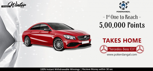 Mercedes-Benz up for grabs on PokerDangal this winter