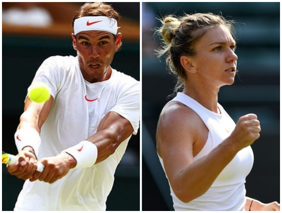 Nadal and Halep cruise through to Wimbledon Round 3
