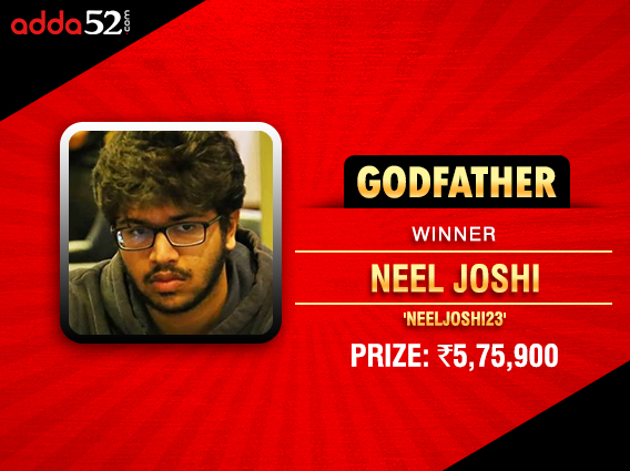 Neel Joshi becomes last Adda52 Godfather finalist