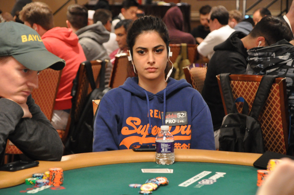 Nikita Luther finishes 17th in $3,000 NLHE