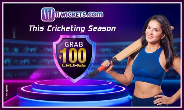 Over 100 CR up for grabs on 11Wickets this cricket season