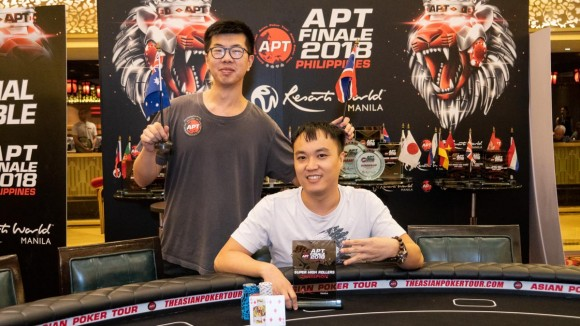 Phachara Wongwichit wins APT Finale Super High Rollers