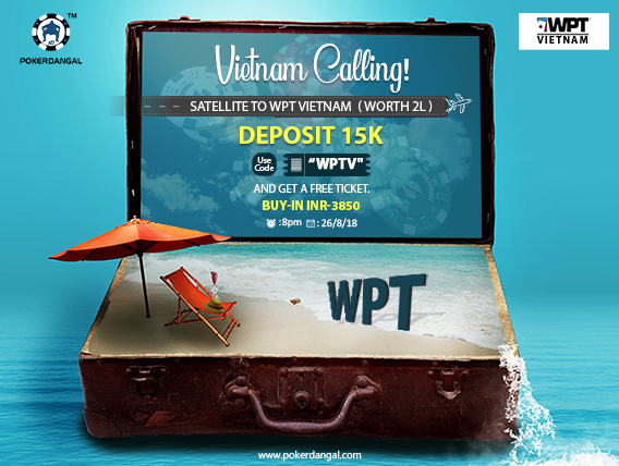 Play on PokerDangal and fly to WPT Vietnam