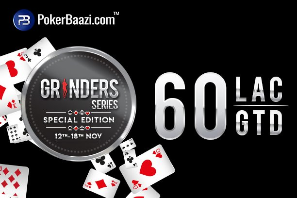 PokerBaazi introduces Grinders Series Special Edition
