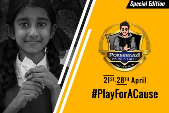 PokerBaazi partners with NGO to host PPL Special Edition