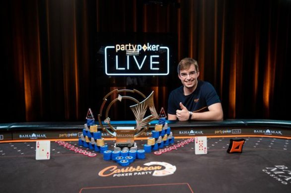 Portugal's Filipe Oliveira ships CPP 2018 Main Event