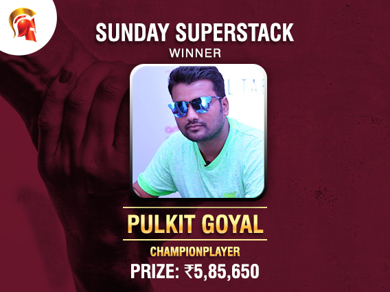 Pulkit Goyal ships Kerala Relief Sunday SuperStack