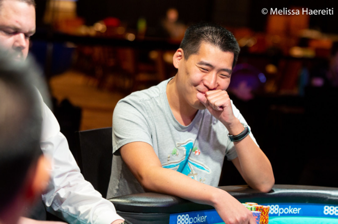 Robert Peacock leads final 3 in Double Stack event