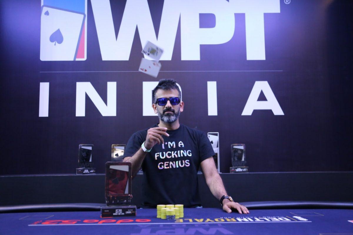 Sacheen Ramchandani wins WPT India Ship IT Event