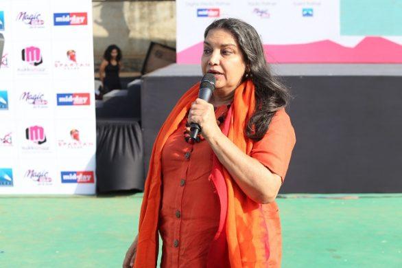 Shabana Azmi speaks at Spartan's Women's Day event