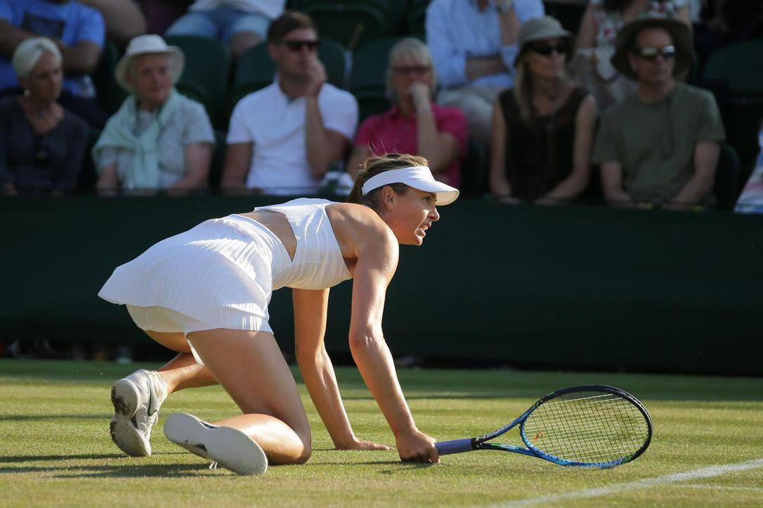 Sharapova and Thiem crash out of Wimbledon 2018