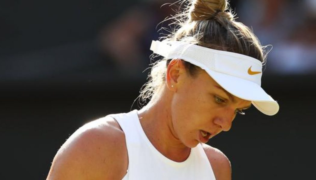 Simona Halep makes Wimbledon exit