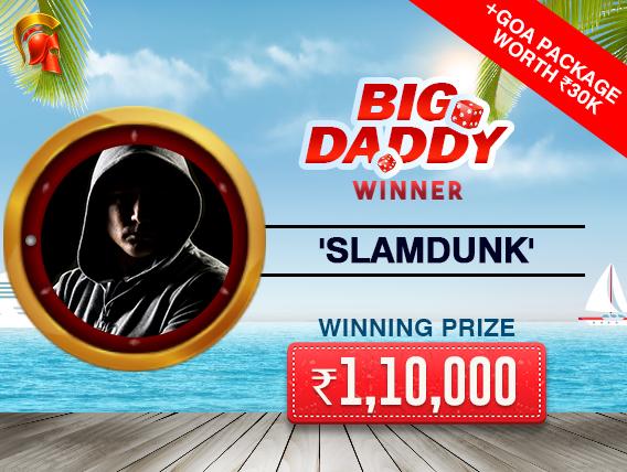 'SlamDunk' wins Big Daddy and trip to Goa on Spartan