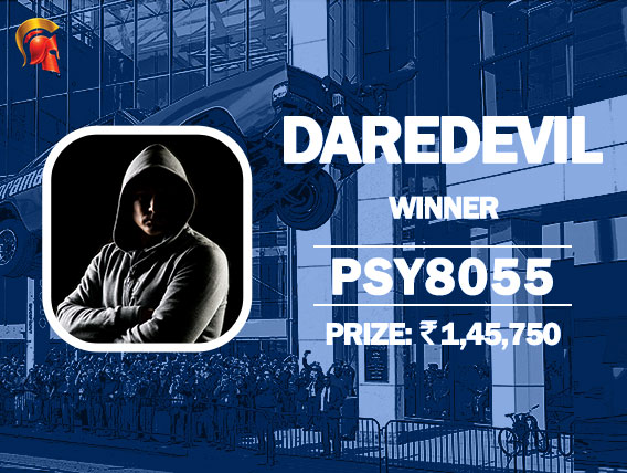 Spartan Daredevil is claimed by 'psy8055'