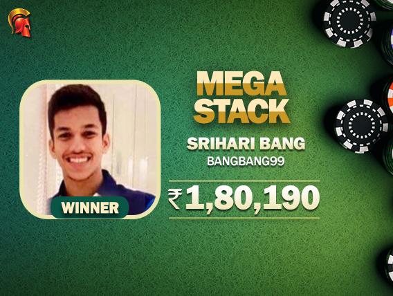 Srihari Bang wins Spartan's Mega Stack