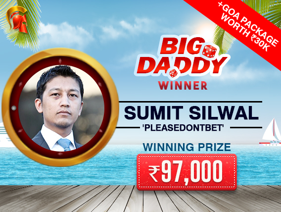 Sumit Silwal ships Big Daddy on Spartan