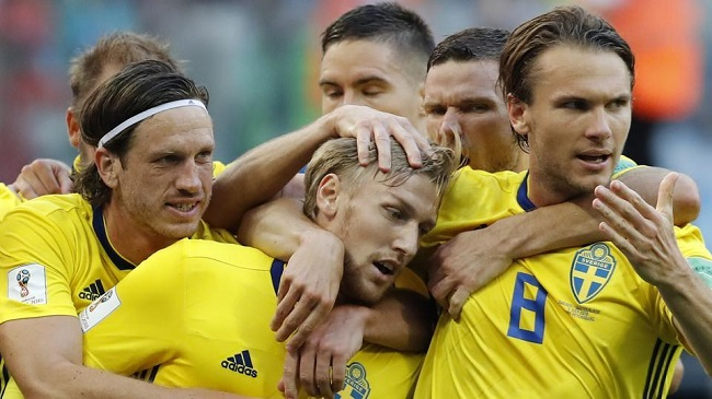 Sweden book unlikely spot in FIFA World Cup quarters