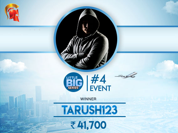 'Tarush123' is big winner on LBS November Day 1
