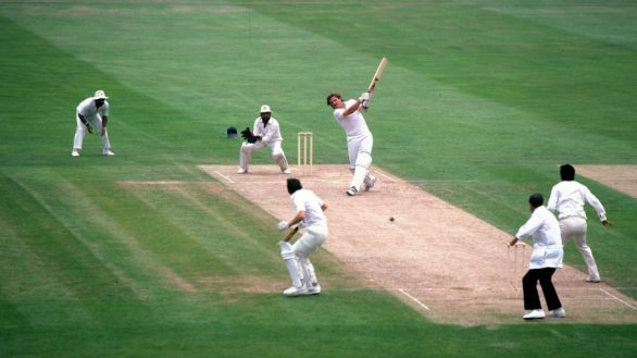 The changing attitudes towards Cricket