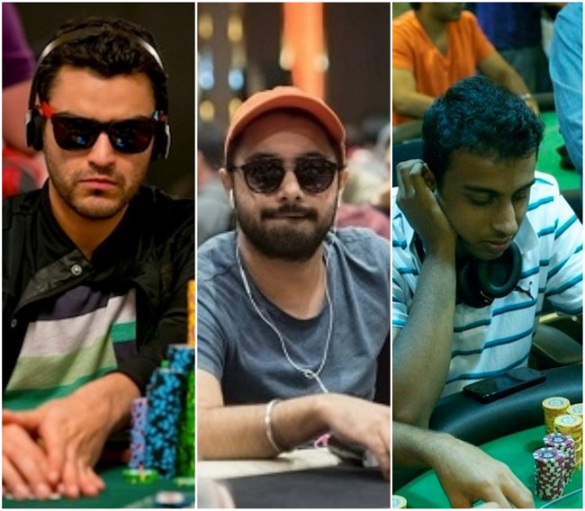 Three Indians cash out in $3,000 PLO Event
