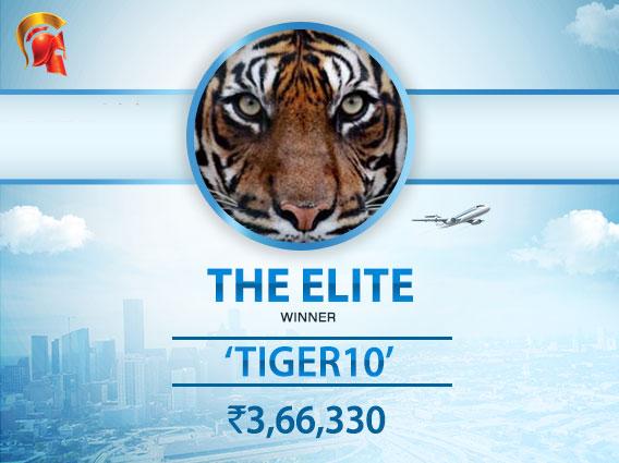 'Tiger10' wins Spartan Elite after 4-way deal