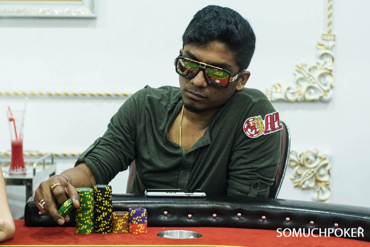 Two Indians progress to APL Vietnam ME Day 2