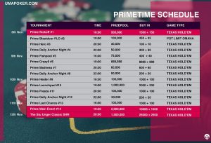 Uma Poker launches new series called 'PRIMETIME'2