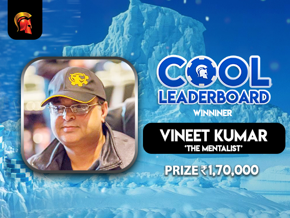 Vineet Kumar wins August's Cool Leaderboard on Spartan