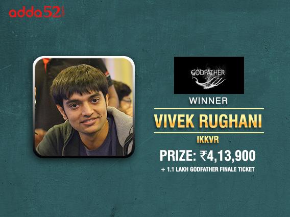 Vivek Rughani ships Godfather tournament on Adda52
