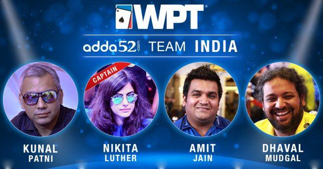 WPT India Team