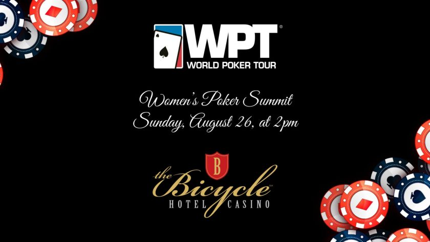 WPT to host Women's Poker Summit this August