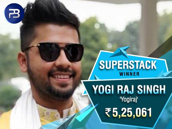 Yogi Raj Singh triumphs in PokerBaazi BSS SuperStack