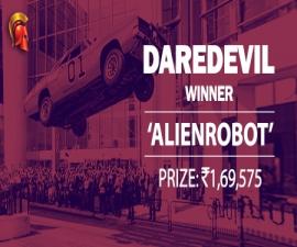 'alienrobot' takes down Spartan DareDevil