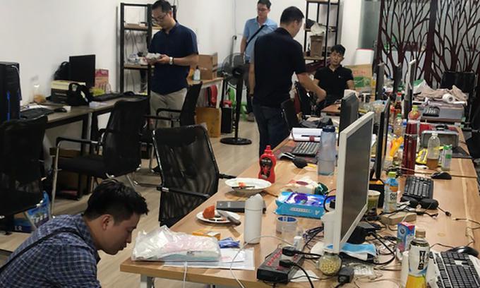 Vietnamese police arrests 16 in online gambling raid Vietnamese police arrests 16 in online gambling raid
