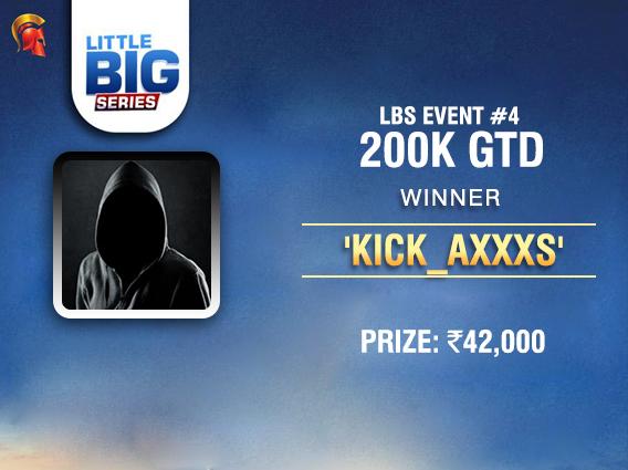 'kick_axxxs' is biggest winner on Spartan's LBS Day 1