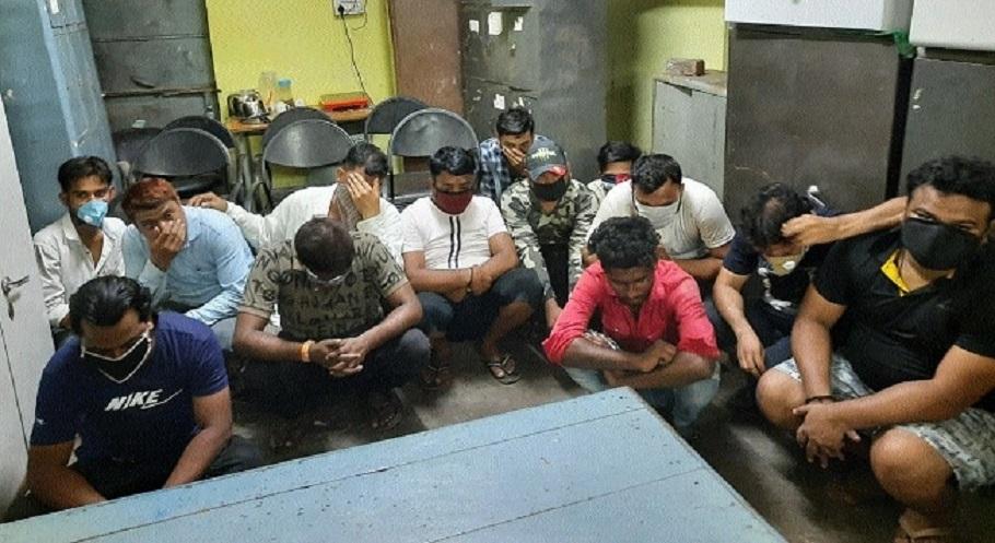 13 arrested in gambling den bust in Uttar Pradesh