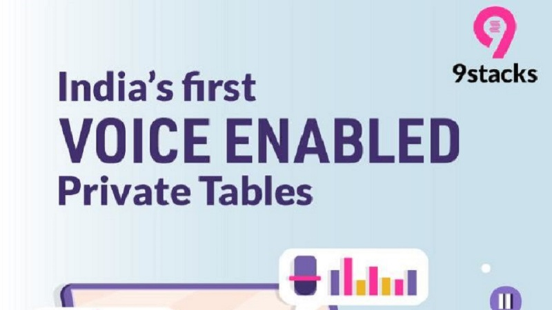 9stacks First to Introduce 'Voice Enabled Poker Tables' Feature